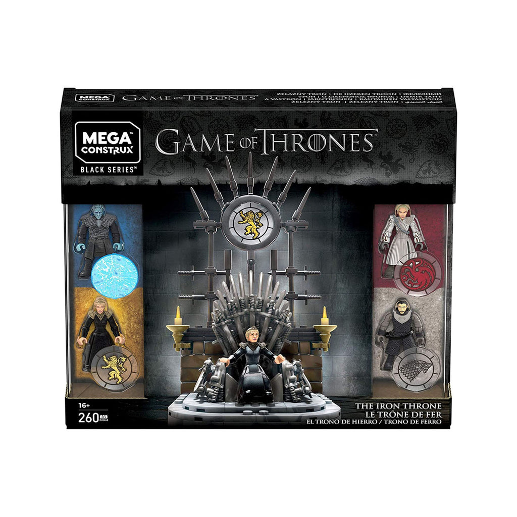 Mega Construx Game Of Thrones Black Series The Iron Throne Building Set