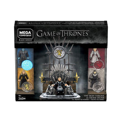 Mega Bloks - Mega Construx Game Of Thrones Black Series The Iron Throne Building Set