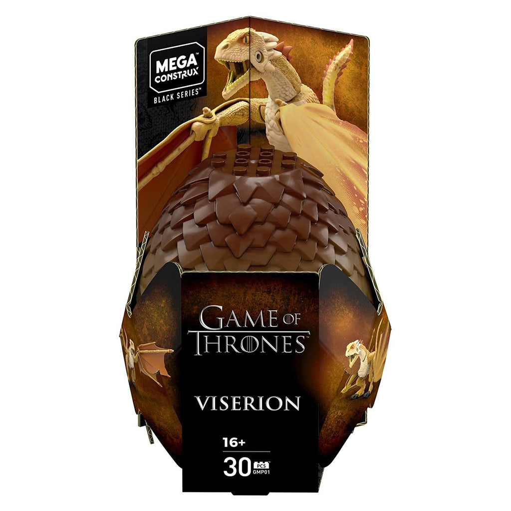 Mega Construx Game Of Thrones Black Series Viserion Building Set