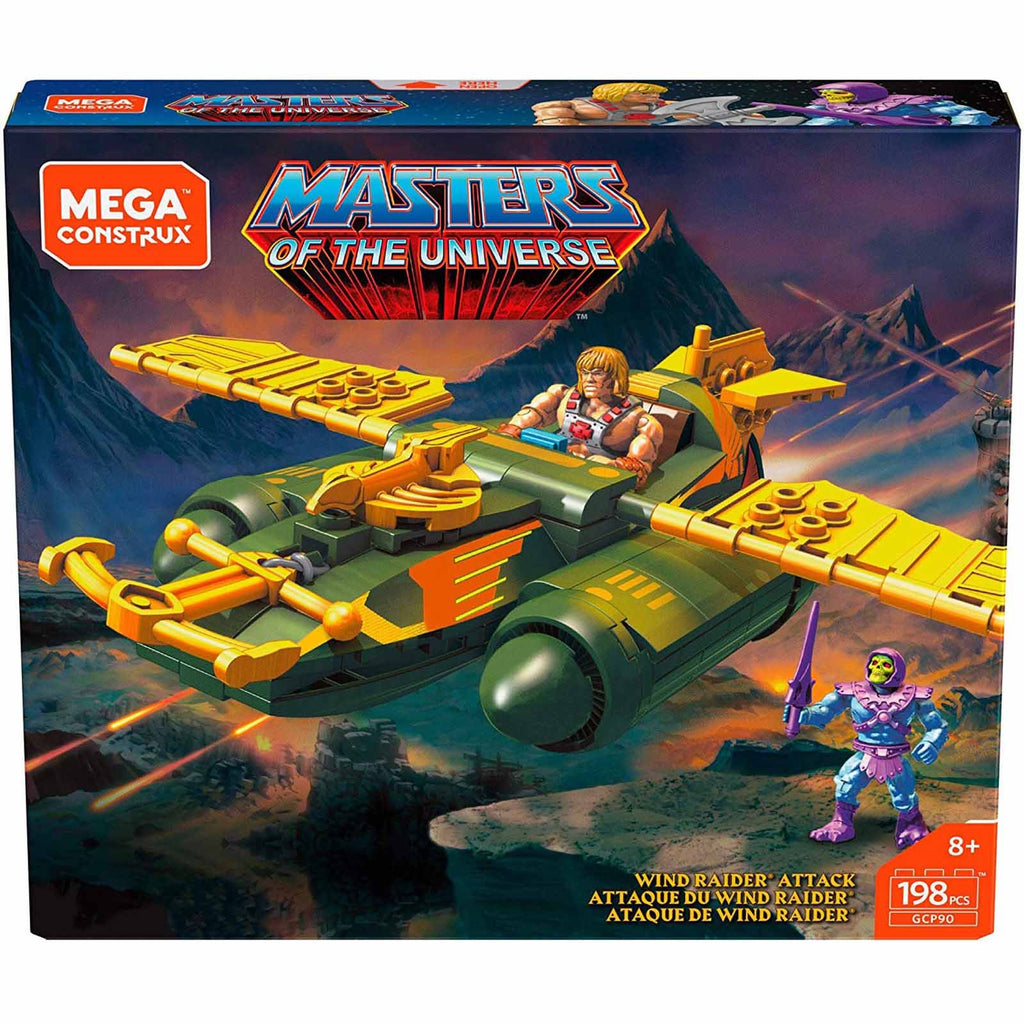 Mega Construx Masters Of The Universe Wind Raider Attack Building Set