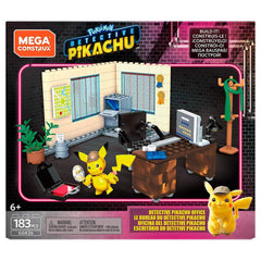 Mega Bloks - Mega Construx Pokemon Detective Pikachu Office Building Set