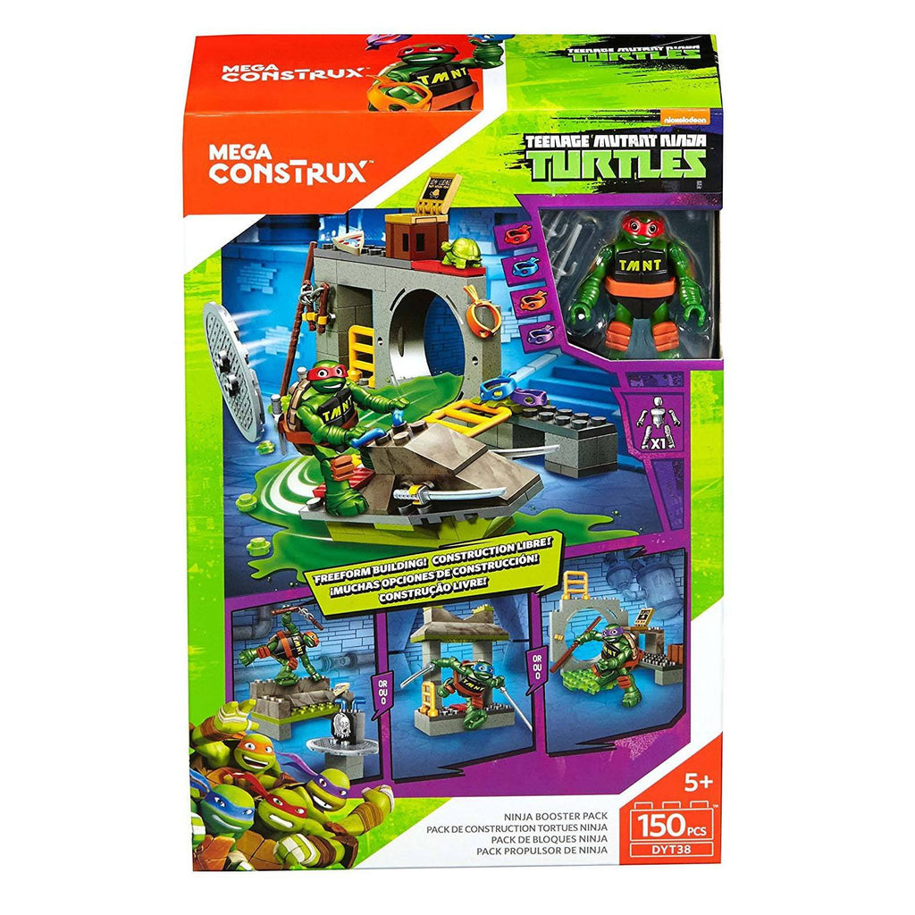 Mega Construx Teenage Mutant Ninja Turtles Booster Pack Raph Building Set