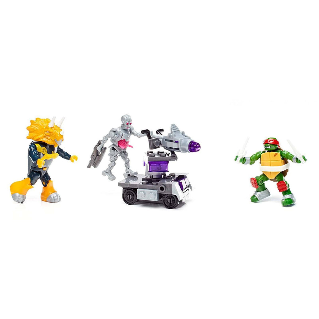 Mega Construx Teenage Mutant Ninja Turtles Dimension X Battle Building Set