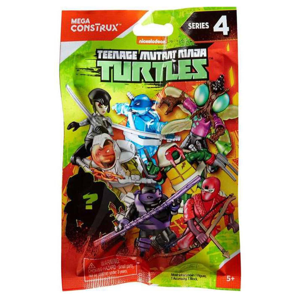 Mega Construx Teenage Mutant Ninja Turtles Series 4 Blind Bag Mini Figure