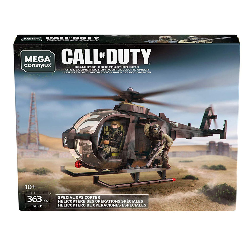 Mega Construx Call Of Duty Special Ops Copter Building Set