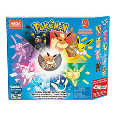 Mega Bloks - Mega Constux Pokemon Every Eevee Evolution Building Set