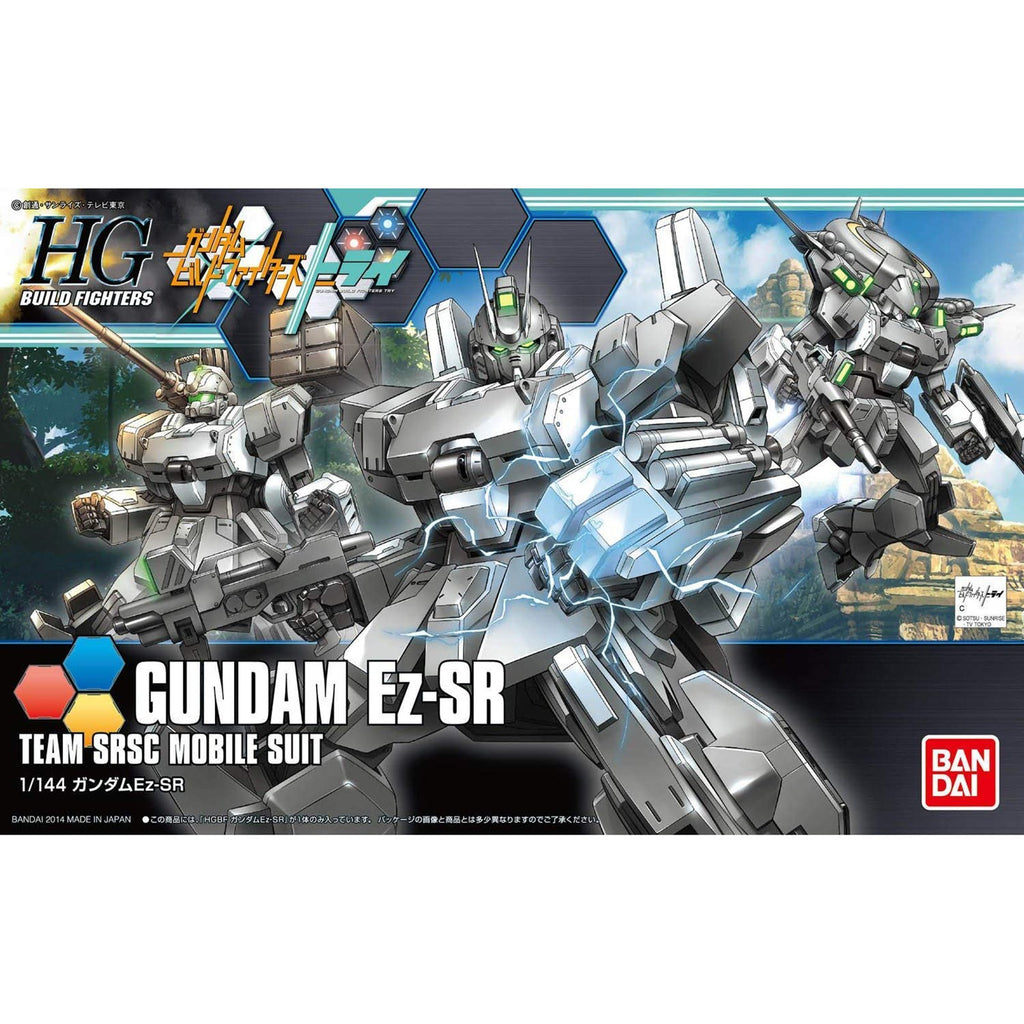 Bandai Gundam HG Build Fighters Ez-SR Team SRSC Model Kit