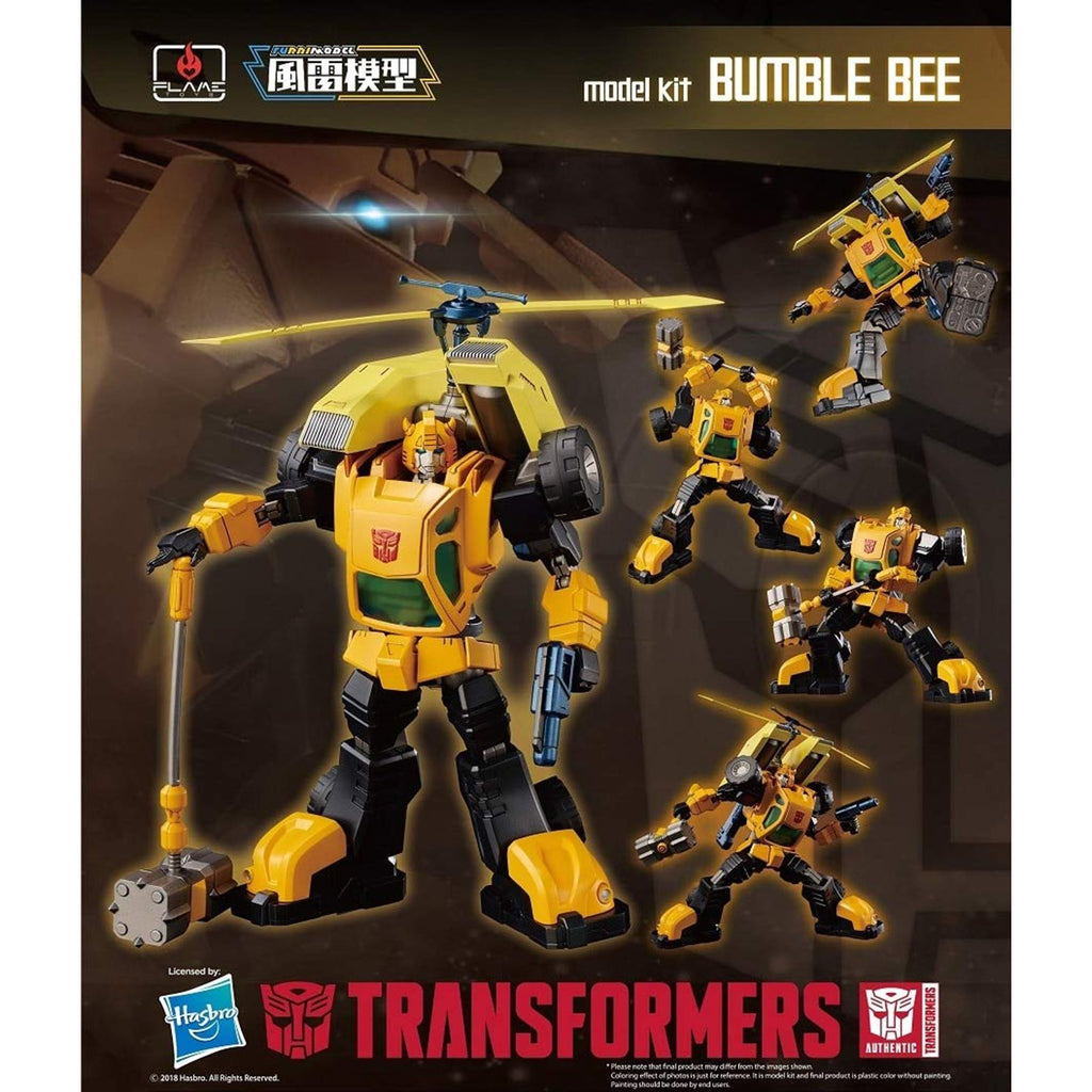 Model Kits - Flame Toys Transformers Bumblebee Model Kit