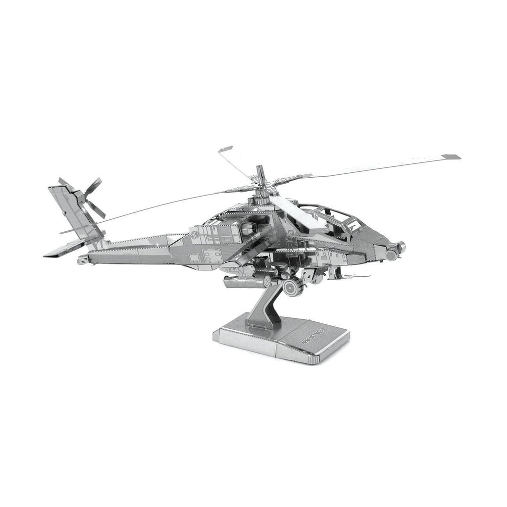 Metal Earth AH-64 Apache Helicopter Model Kit