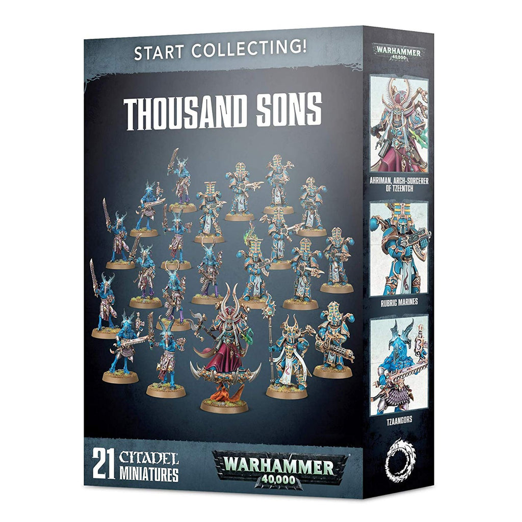 Warhammer 40,000 Thousand Sons Start Collecting Set
