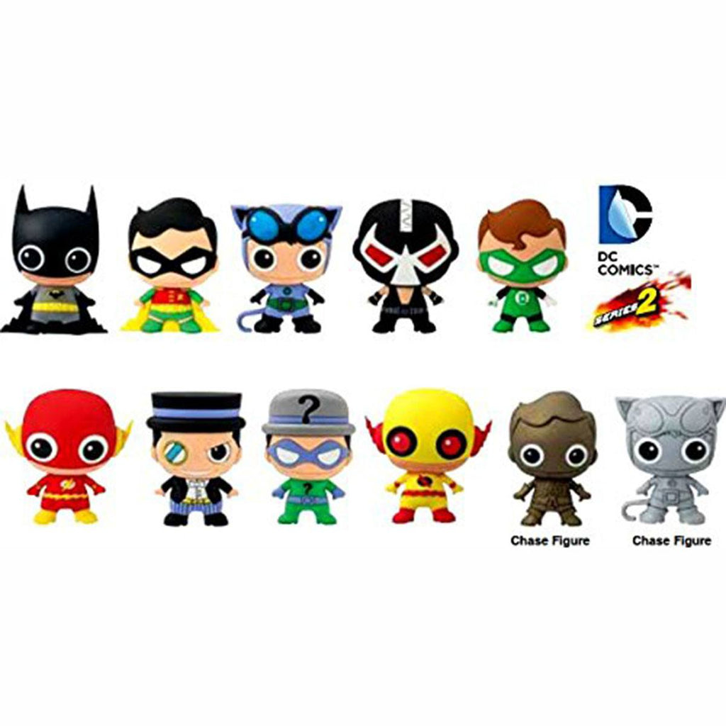 DC Comics Series 2 Blind Bag Figure Keychain