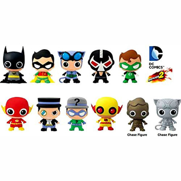 Dc Comics Series 2 Blind Bag Figure Keychain Superhero