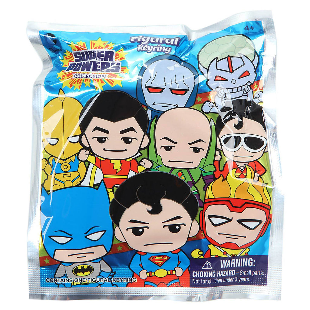 DC Comics Super Powers Blind Bag Figure Keychain