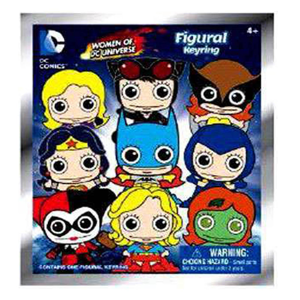 DC Comics Women Of DC Blind Bag Figure Keychain
