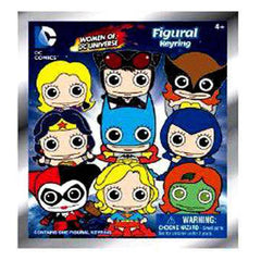 DC Comics Women Of DC Blind Bag Figure Keychain - Radar Toys