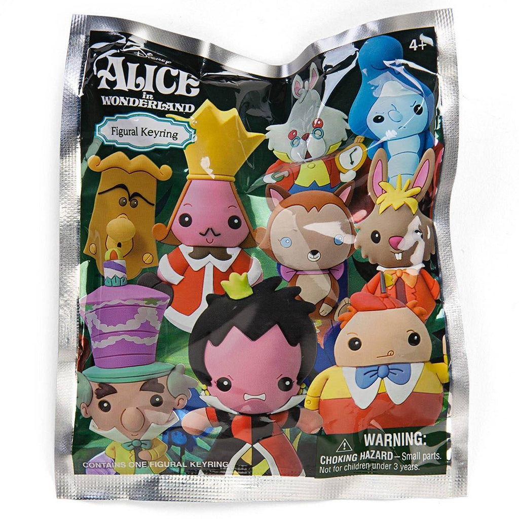 Disney Alice in Wonderland Blind Bag Figure Keychain