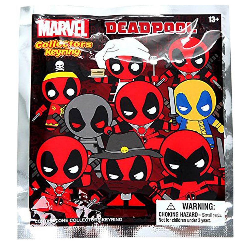 Marvel Deadpool Blind Bag Figure Keychain