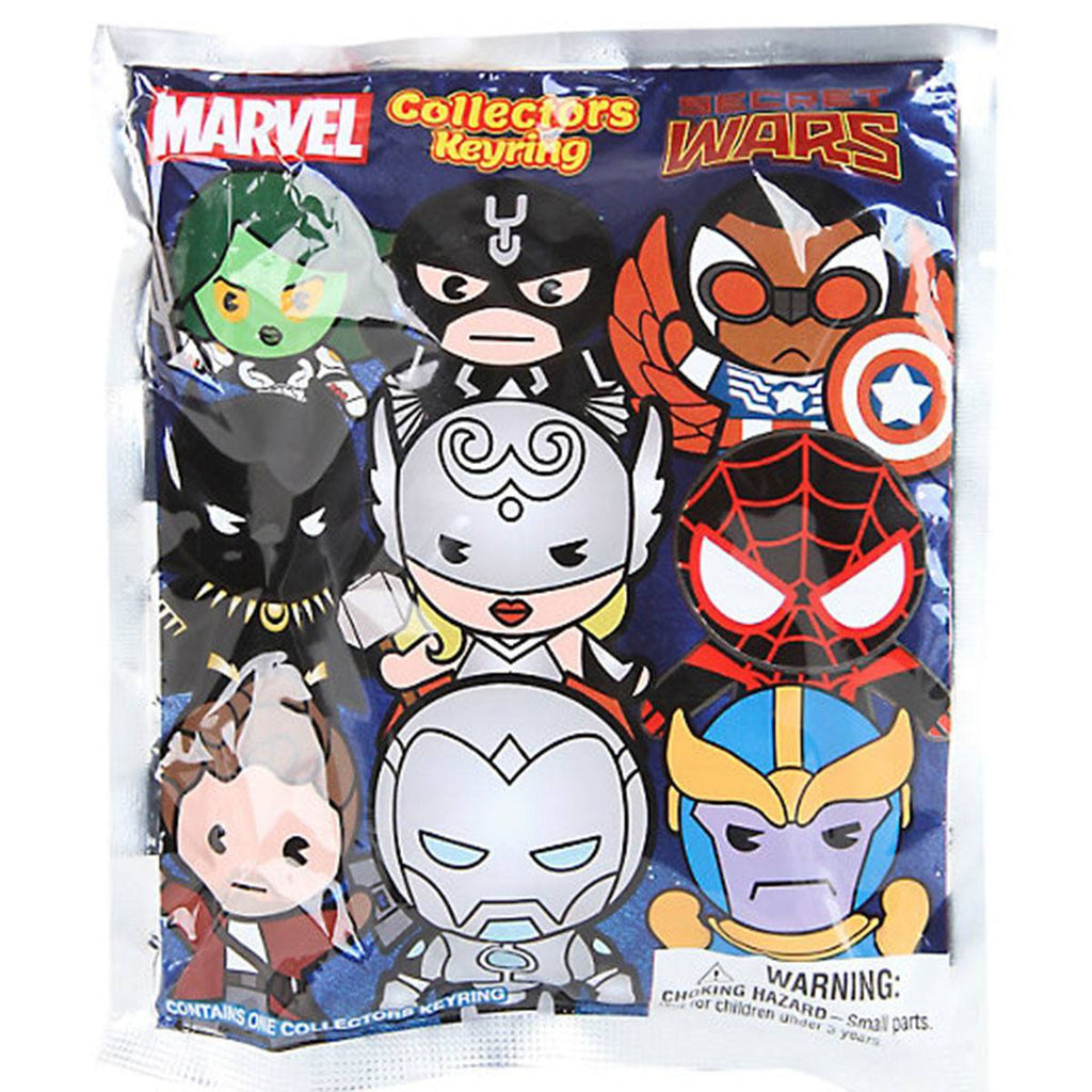 Marvel Secret Wars Blind Bag Figure Keychain