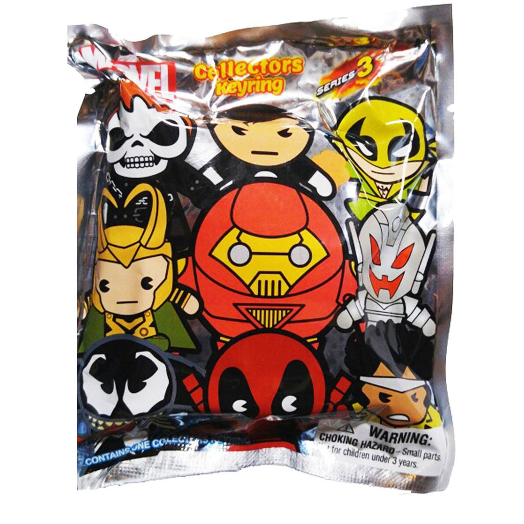Marvel Series 3 Blind Bag Figure Keychain - Radar Toys