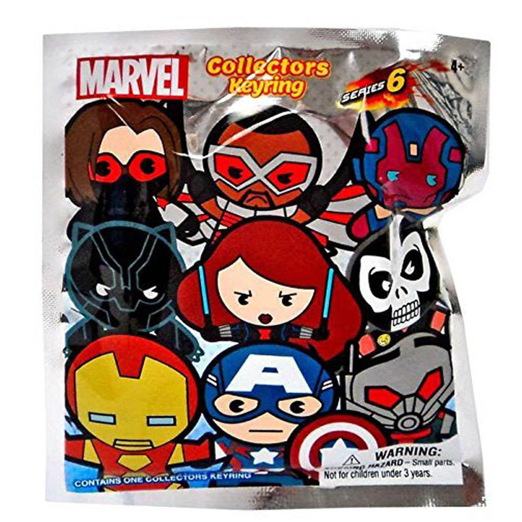 Marvel Series 6 Blind Bag Figure Keychain