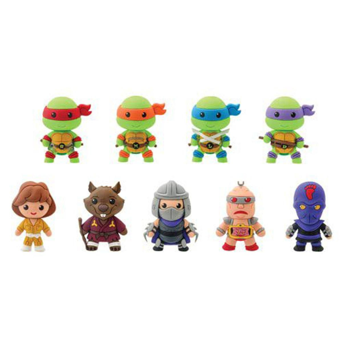 Teenage Mutant Ninja Turtles Blind Bags Figure Keychain