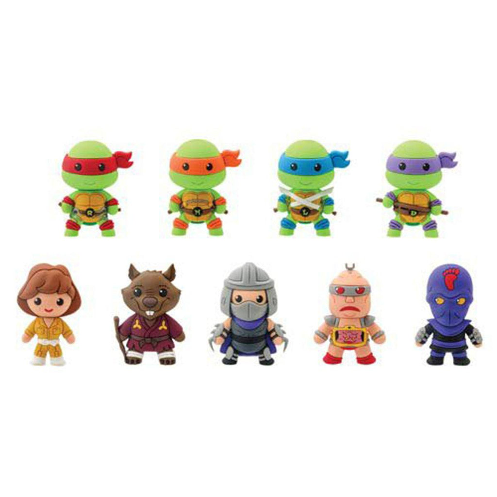 Teenage Mutant Ninja Turtles Blind Bag Figure Keychain