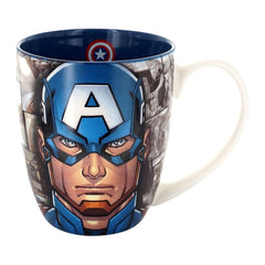 Mugs - Marvel Avengers Captain America & Comic Frames Mug
