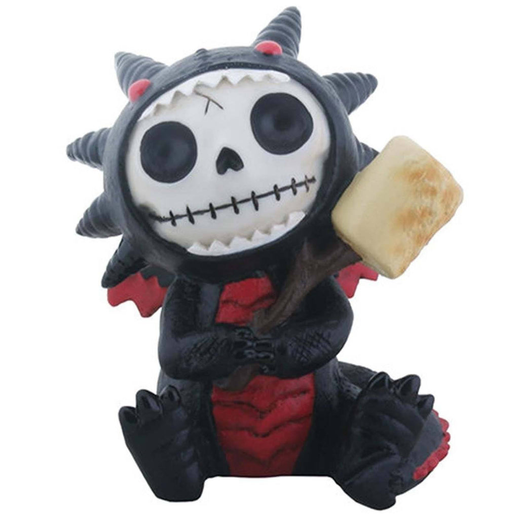 Furrybones Black Scorchie Resin Figure