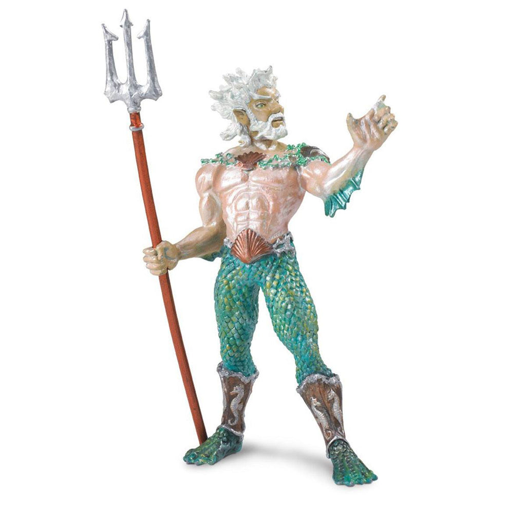 Poseidon Mythical Realms Figure Safari Ltd - Radar Toys