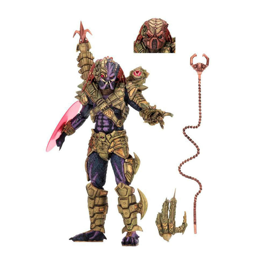 Neca Action Figures - NECA Aliens Vs Predator Ultimate Lasershot Predator 7 Inch Action Figure