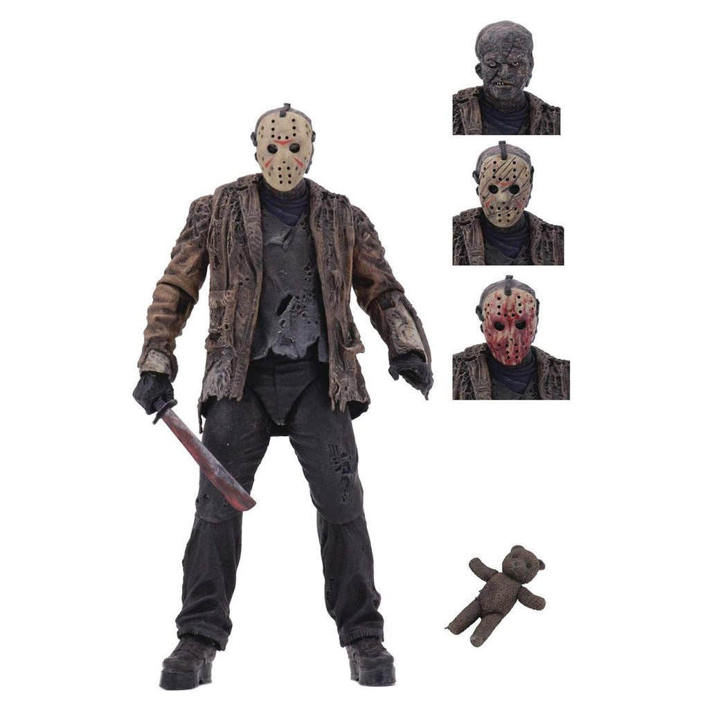 Neca Action Figures - NECA Freddy Vs Jason Ultimate Jason 7 Inch Action Figure