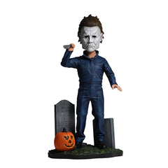 Neca Action Figures - NECA Halloween Head Knockers Michael Myers Bobble Head Figure