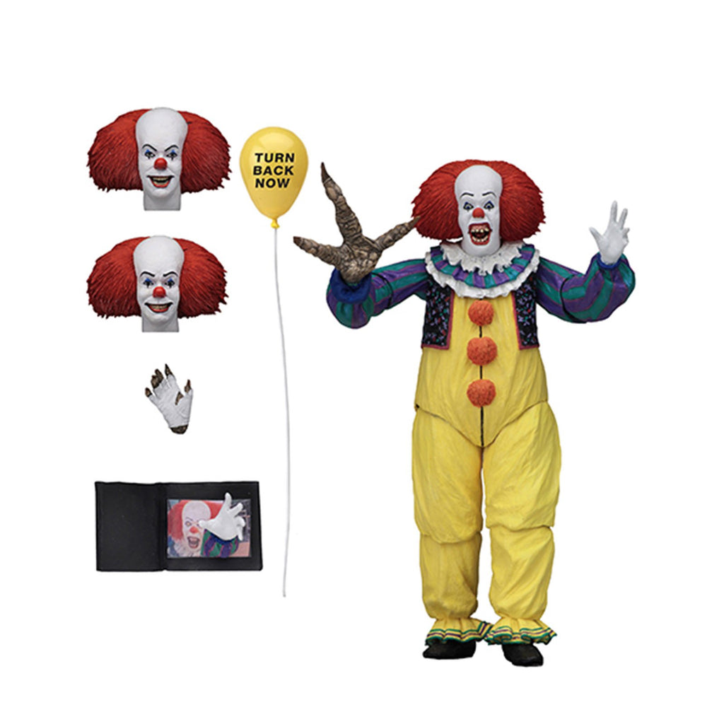Neca Action Figures - NECA IT Movie Pennywise Ultimate V2 1990 7 Inch Action Figure