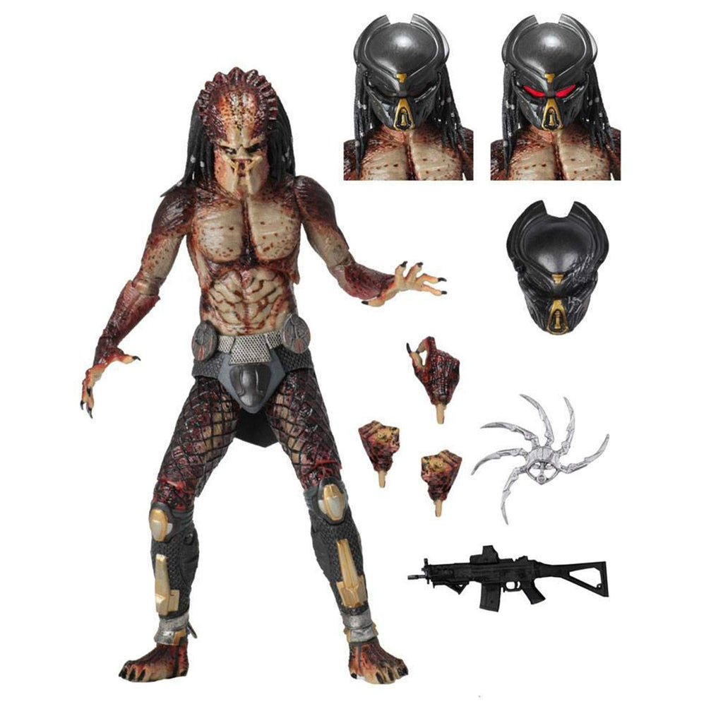 NECA Predator Lab Escape Fugitive Predator Ultimate Action Figure