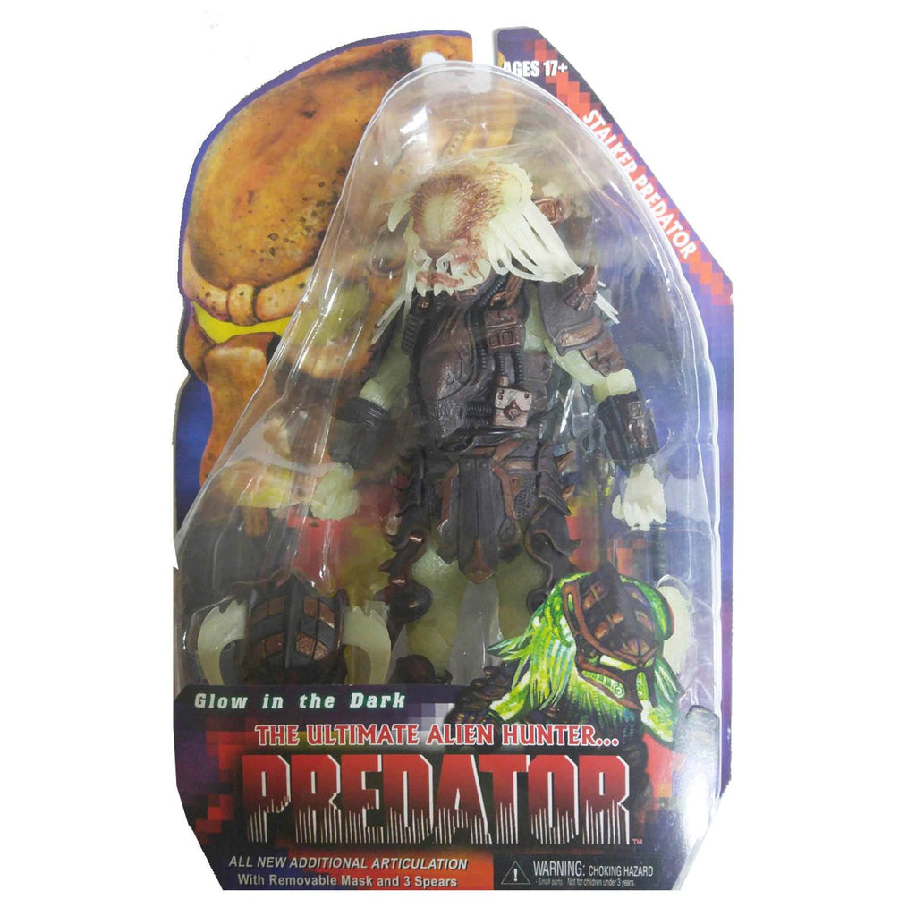 Predator Series 16 Glow In The Dark Stalker Action Figure