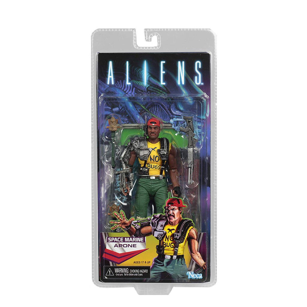 NECA Aliens Series 13 Space Marine Apone 7 Inch Action Figure
