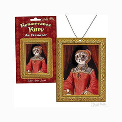 Novelty - Archie McPhee Renaissance Kitty Rose Scented Air Freshener