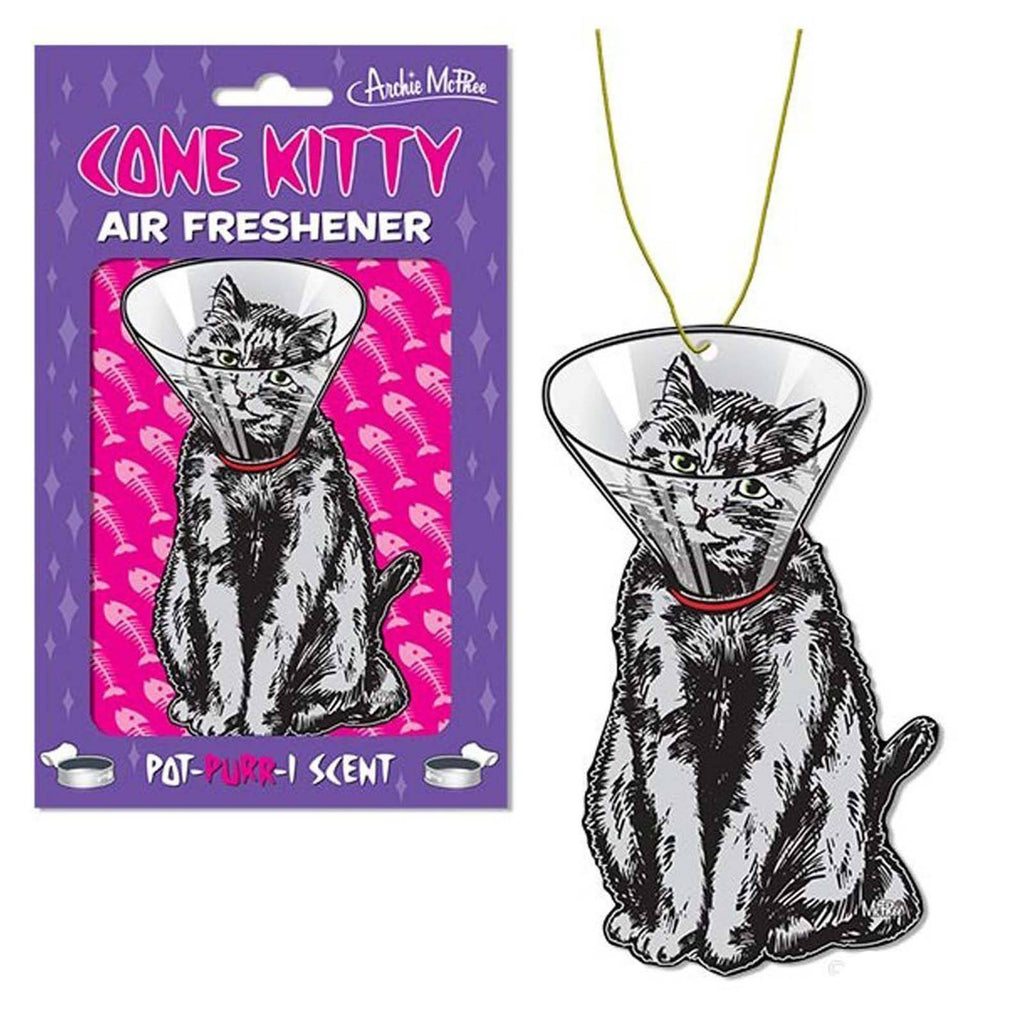 Cat In A Cone Kitty Air Freshener