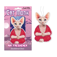 Novelty - Cat Monk Sandalwood Scent Air Freshener