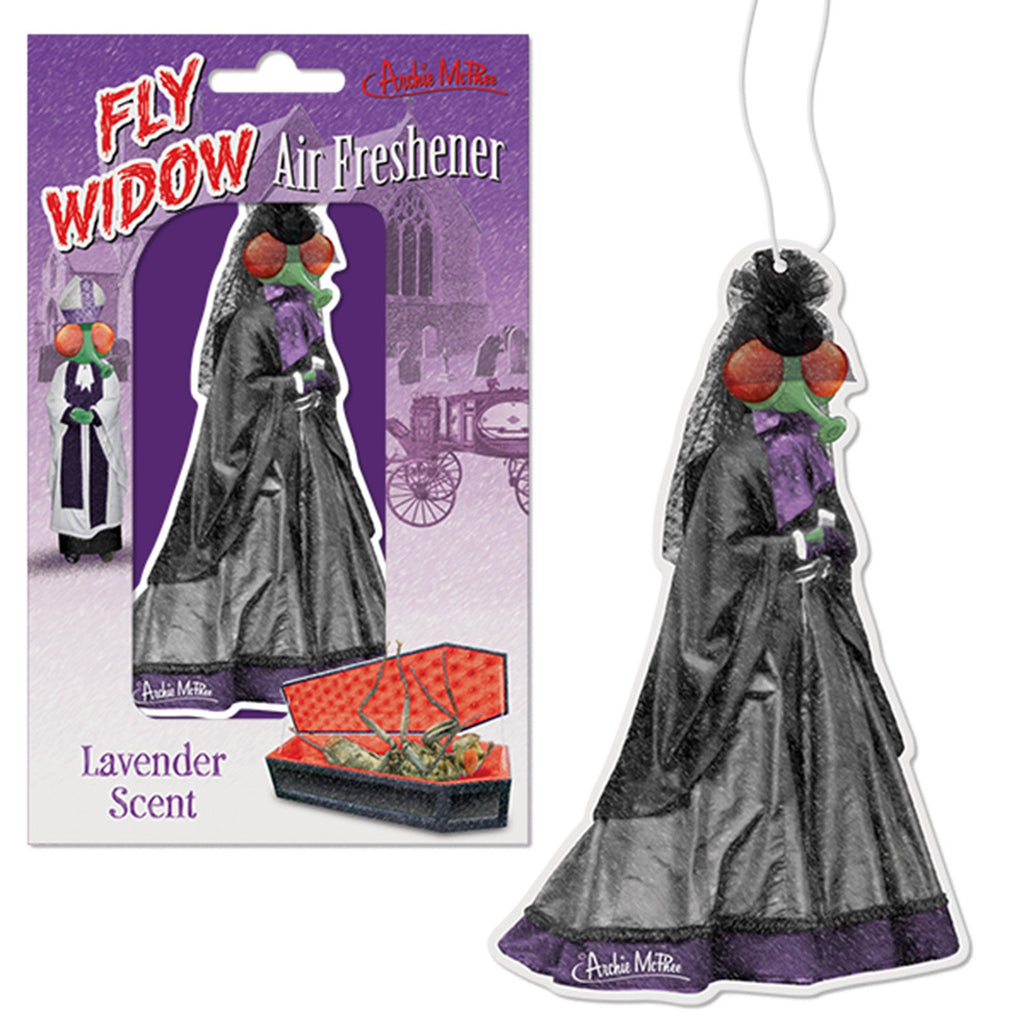 Novelty - Fly Widow Lavender Scent Air Freshener