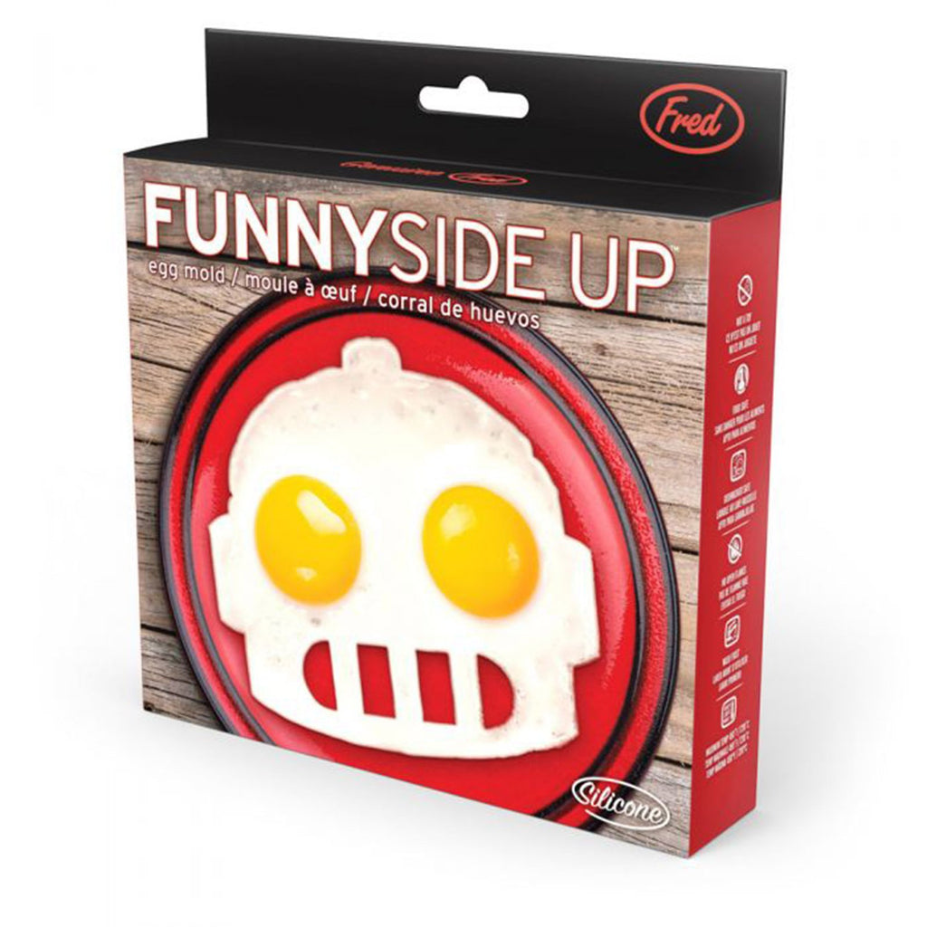 FRED Funny Side Up Robot Egg Mold