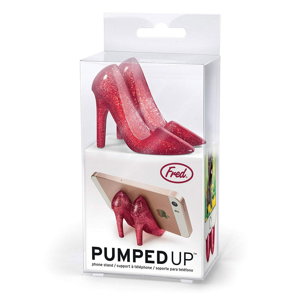 FRED Pumped Up Ruby High Heels Phone Stand