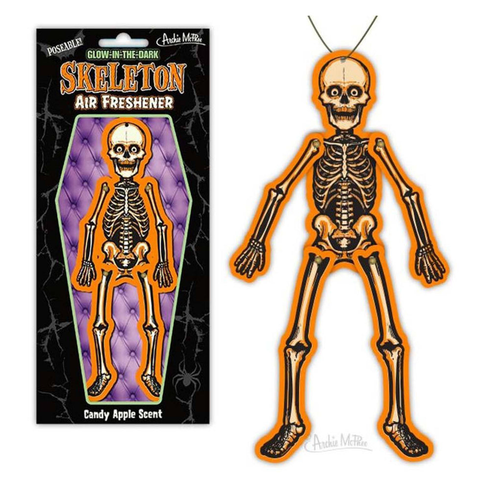Glow In The Dark Skeleton Air Freshener