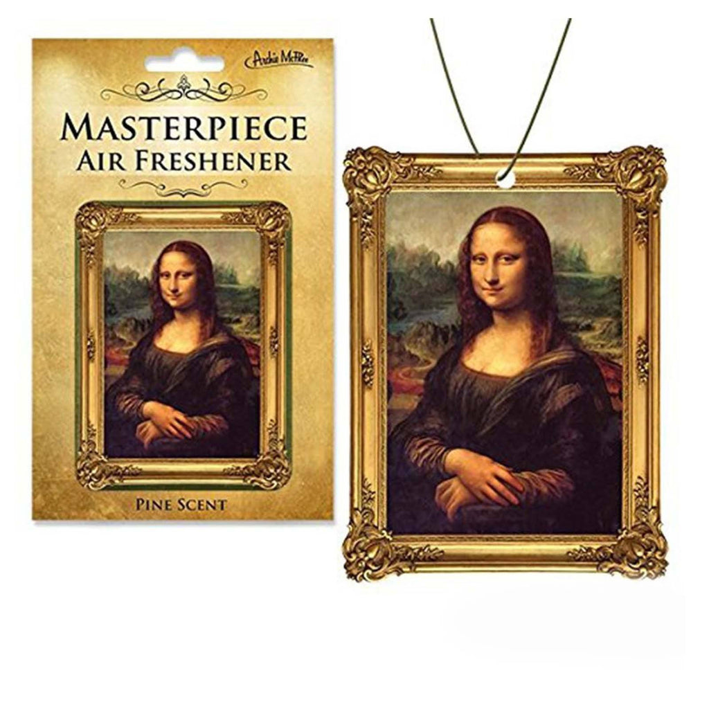 Mona Lisa Masterpiece Air Freshener