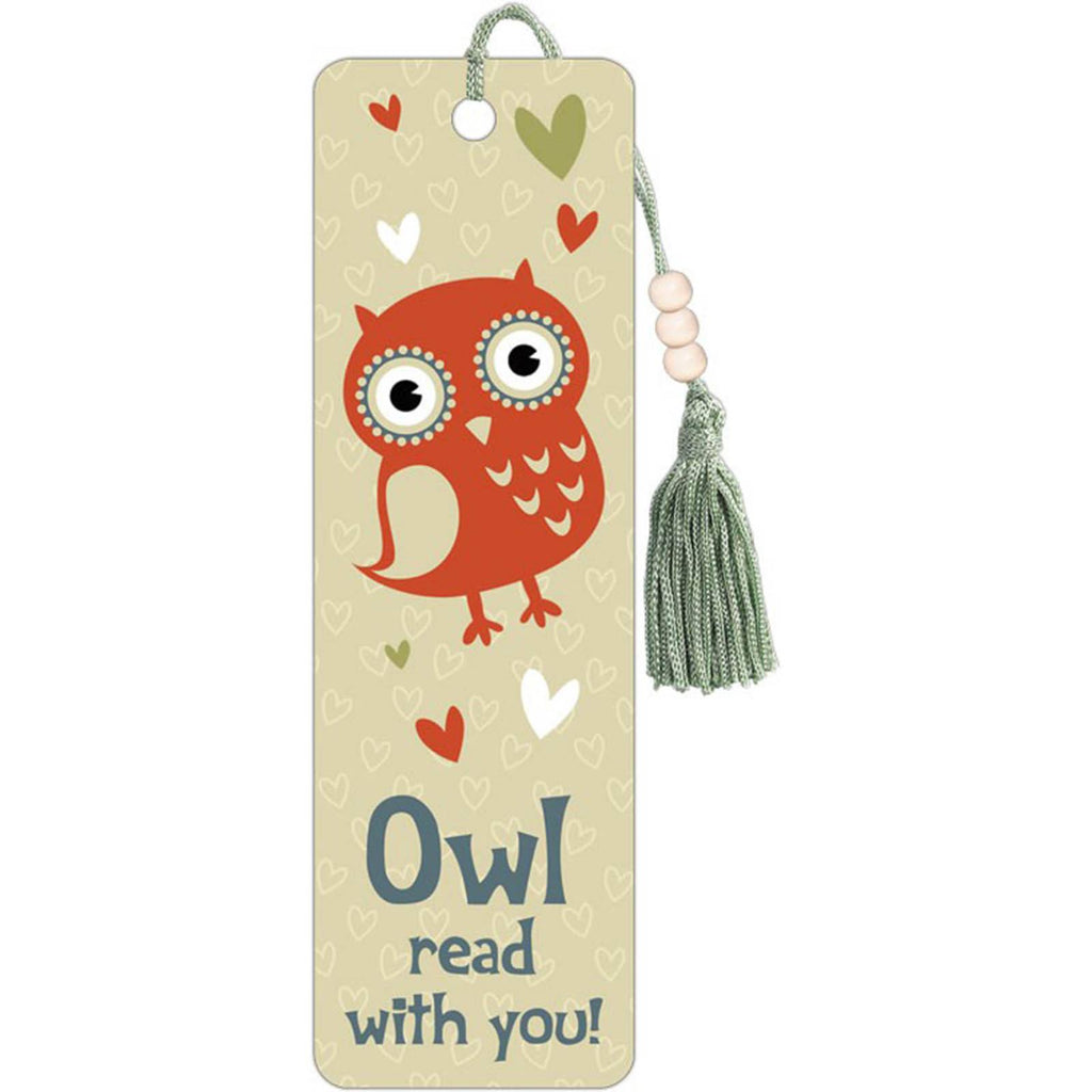 Owl Read With You Premier Bookmark