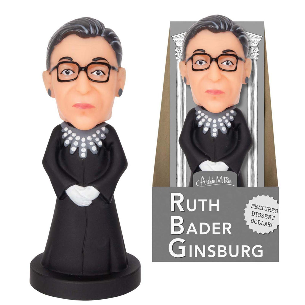 Ruth Bader Ginsburg Bobble Head 5 Inch Figure