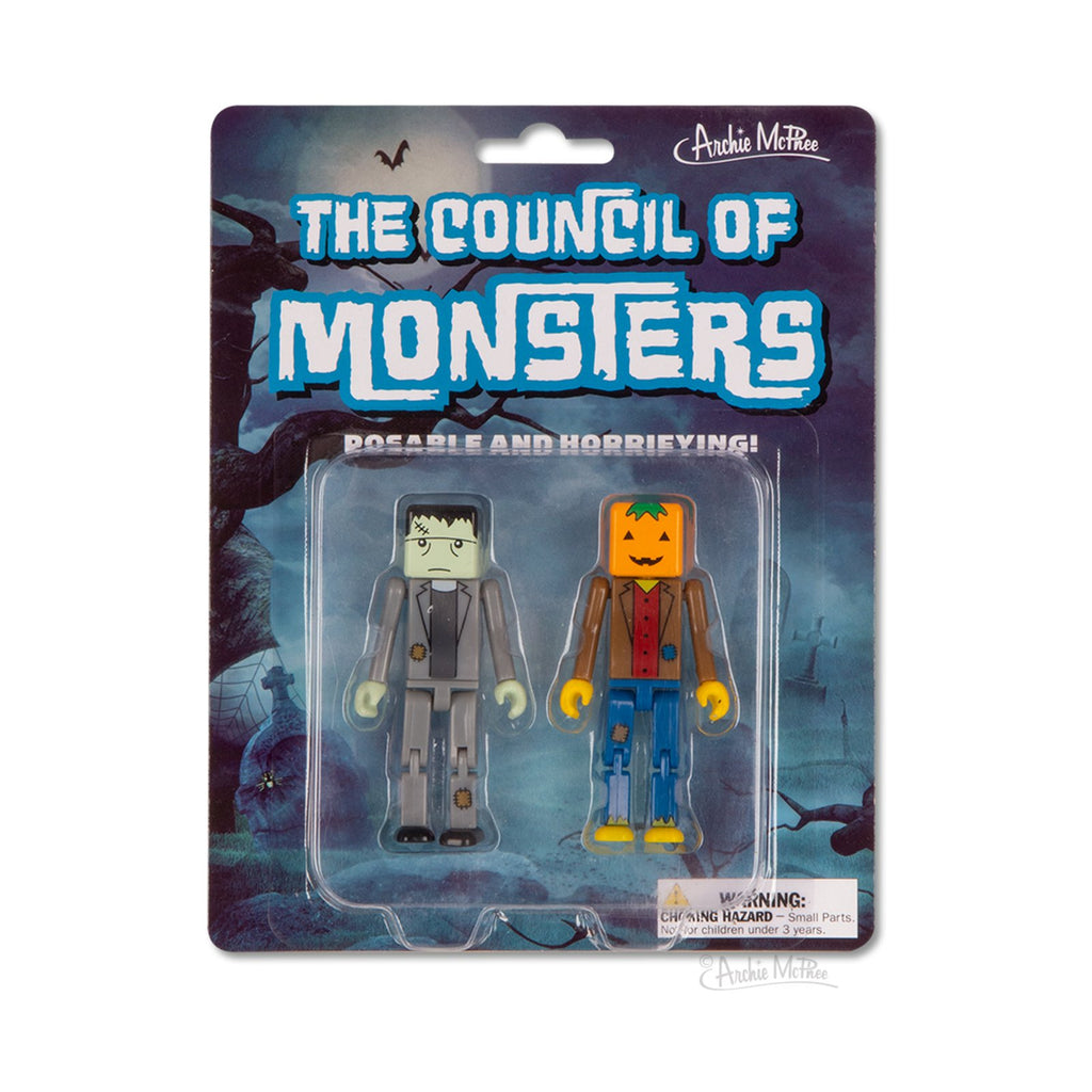 The Council Of Monsters Frank & Jack Series 1 Cube Figures