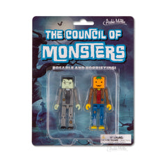 Novelty - The Council Of Monsters Frank & Jack Series 1 Cube Figures