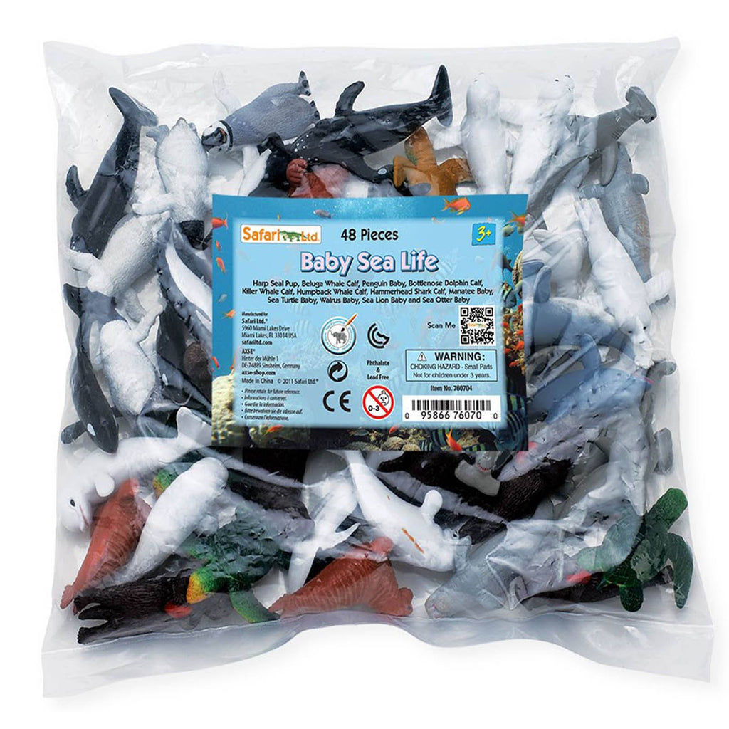 Baby Sea Life Bulk Bag Mini Figures Safari Ltd - Radar Toys