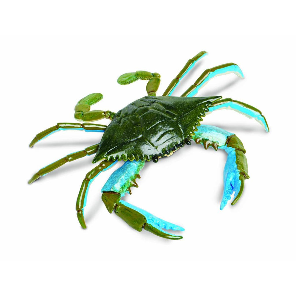 Blue Crab Incredible Creatures Figure Safari Ltd - Radar Toys